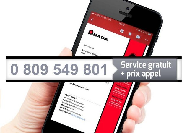 New contact for service