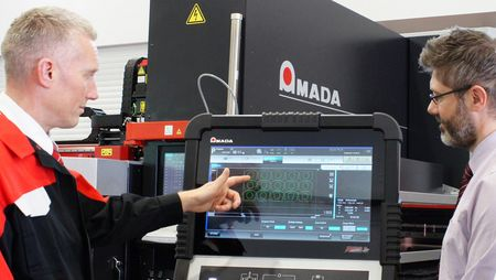 AMADA training for  machine operators