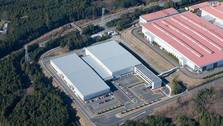 Fujinomiya Parts Center in Japan