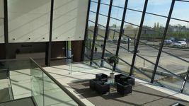 Der Empfangbereich im Solution Center bei Düsseldorf