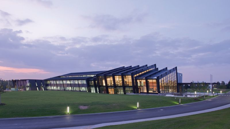 The head office of AMADA GmbH in Germany