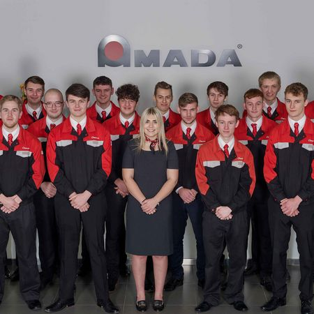 AMADA UK Scoops Prestigious Apprenticeship Award